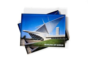 Milwaukee Art Museum Magnet- Northeast View | Milwaukee Art Museum Store