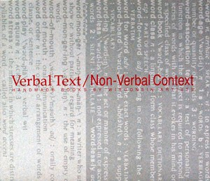 Verbal Text/ Non Verbal Context | Milwaukee Art Museum Store
