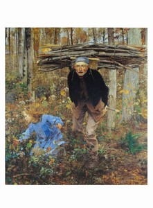 Milwaukee Art Museum Store | Jules Bastien-Lepage: The Woodgatherer Notecard