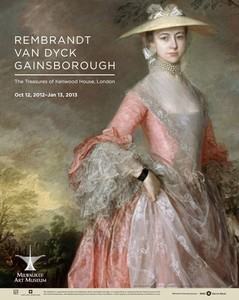 The Treasures of Kenwood House Exhibition Poster | Milwaukee Art Museum Store