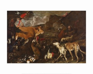 <i>Noah and the Animals Entering the Ark</i> by Giovanni Benedetto Castiglione | Milwaukee Art Museum Store