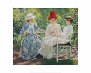 <i>Three Sisters- A Study in June Sunlight</i> by Edmund Charles Tarbellner | Milwaukee Art Museum Store