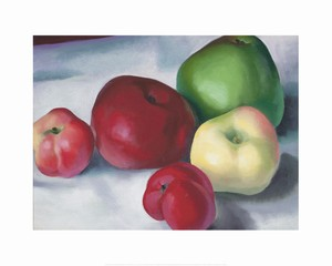 <i>Apple Family 3</i> by Georgia O&#39;Keeffe