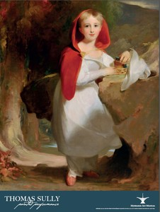 Exhibition Poster: Thomas Sully: Painted Performance