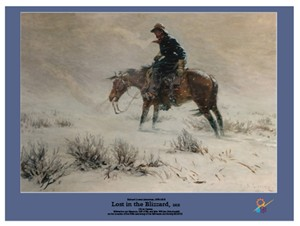 Poster- Lost in the Blizzard | Milwaukee Art Museum Store