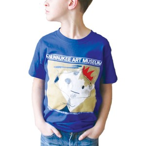 The King's Jester by Miro - Youth Tee | Milwaukee Art Museum Store