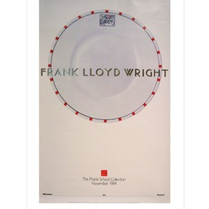 Plate by Frank Lloyd Wright Poster| Milwaukee Art Museum Store