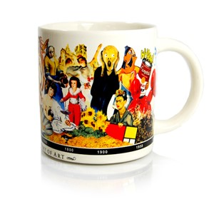 A Brief History of Art Mug | Milwaukee Art Museum Store