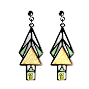 Mahony Window Earrings | Milwaukee Art Museum Store