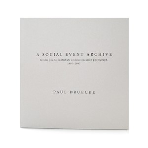 Paul Druecke: A Social Event Archive | Milwaukee Art Museum