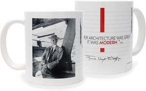 Frank Lloyd Wright Modern Quote Mug | Milwaukee Art Museum Store