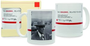 Frank Lloyd Wright Building Quote Mug | Milwaukee Art Museum Store