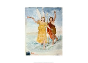 Saint John the Baptist and Angel by Edgar Degas | Milwaukee Art Museum Store