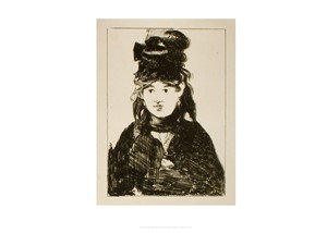 Berthe Morisot by Èdouard Manet | Milwaukee Art Museum Store