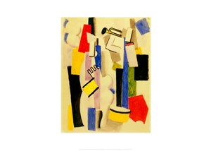 Composition with Drum and Trumpet by Fresnaye| Milwaukee Art Museum Store