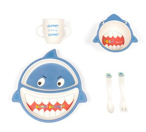 Sammy Shark Kid's Dish Set| Milwaukee Art Museum Store