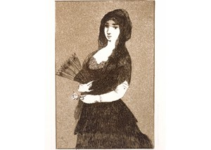 Exotic Flower (Woman in a Mantilla) Print| Milwaukee Art Museum Store