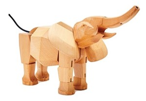 Wooden Hattie The Elephant | Milwaukee Art Museum