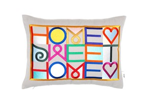 Home Sweet Home Pillow | Milwaukee Art Museum
