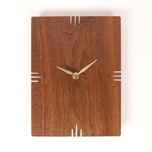 Oscar Walnut Wall Clock | Milwaukee Art Museum