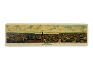 Milwaukee Panarama Map Bookmark | Milwaukee Art Museum
