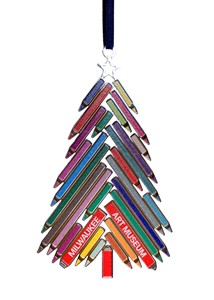 Colored Pencil Tree Ornament | Milwaukee Art Museum