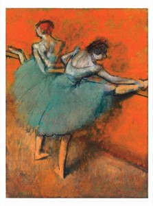 Dancers at the Barre Postcard | Milwaukee Art Museum