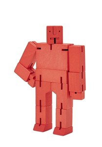 Cubebot Small - Red | Milwaukee Art Museum Store
