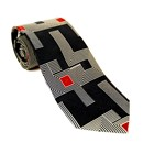 Silk Tie - Frank Lloyd Wright Taliesin West - Black