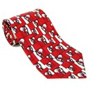Silk Tie - Mackintosh Rosebuds - Red