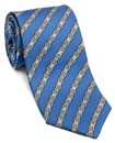 Bike Chain Silk Tie