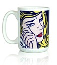 Crying Girl Mug
