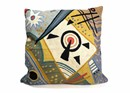 "Kandinsky Bright 24"" Pillow"