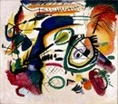 Fragment I for Composition VII by Wassily Kandinsky Giclée Print