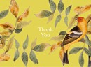 Art In Bloom - Bird Thank You Card