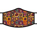 Kandinsky Circles Fabric Face Mask