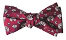 Frank Lloyd Wright April Showers Bow Tie- Maroon