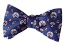 Frank Lloyd Wright April Showers Box Tie - Navy