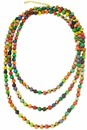 Kantha Beaded Long Necklace