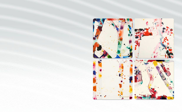 Sam Francis Coaster Set