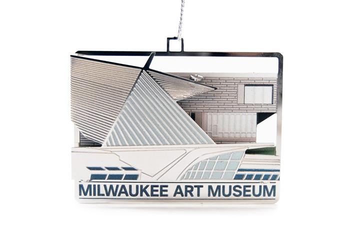 3d milwaukee art museum ornament milwaukee art museum store for Craft stores in milwaukee