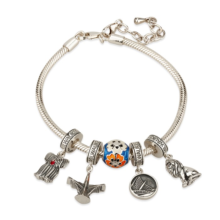 Milwaukee Art Museum Bracelet And Charms